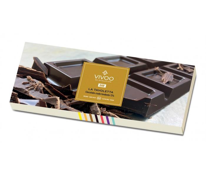 73% presna čokolada s kokosovim sladkorjem