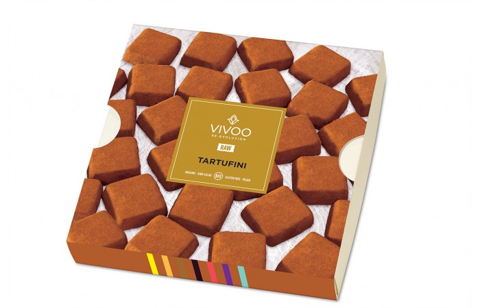 Tartufi – sadni grižljaji obliti s presno čokolado